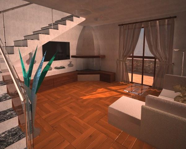 Rendering interni fotorealistiche interni dodida for Siti design interni